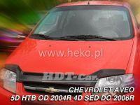 Hood deflector for CHEVROLET Aveo 4dv. 2004r sedan, Htb Nový vzor