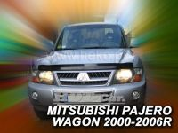 Hood deflector for MITSUBISHI Pajero Wagon 2000r
