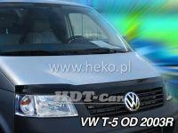 Hood deflector for VW T5 2dv. 2003r
