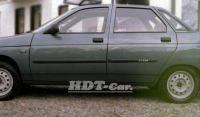 The protective side door moldings Lada 110, 1996r