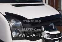 Hood deflector for Ford Transit Custom 2012r =>