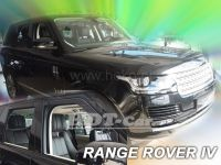 SIDE WINDOW AIR DEFLECTORS for car Land Rover Discovery IV 5D 2009 =>, front door