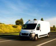 Vans, truck, trailer