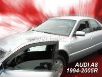 SIDE WINDOW AIR DEFLECTORS for car Audi A8 4D 1994--02R, front door HDT