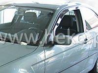 SIDE WINDOW AIR DEFLECTORS for car BMW serie 3 E 46 4/5D 1998 =>, front door HDT