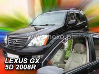 Windows deflector Lexus GX 5D 04-2009R USA, 2pc front