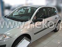 Windows deflector Renault Megane II 4/5D 2002r =>, 2pc front