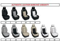 Tailor made car seat covers AUTHENTIC LEATHER 4, 6, 8, 9 seat
