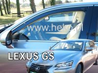 Windows deflector Lexus GS 250 4D 2016r =>, 2pc front
