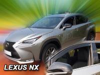 Windows deflector Lexus NX 5D 2014r =>, 2pc front