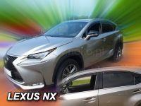 Windows deflector Lexus NX 5D 2014R =>, 4 pc front+rear