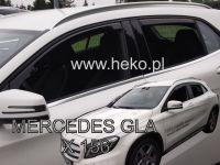 Windows deflector Mercedes GLA X156 5D 2014R =>, 4pc front+rear