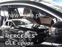 Windows deflector Mercedes GLE C292 5D 2016r => coupe, 2pc front