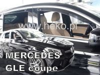 Windows deflector Mercedes GLE C292 5D 2016R =>, 4pc front+rear