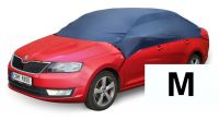 Car cover blue M 259x147x41 cm