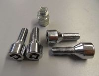 Safety bolts  conical M12 x 1,5 x 29 mm