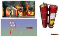 Fire suppression by water mist Fogmaker