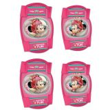 Knee and elbow pads for kids Minnie Mouse 4pc