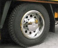 Universal rear Wheels covers deep 22,5'' 1pc