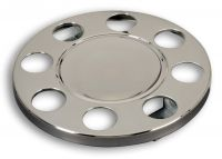"Truck Wheel Covers 19,5"" stainless steel 1pc"