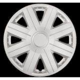 """Universal Wheels covers white 16"""" COSMOS RING white, 4pc"""