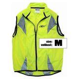 Reflective safety vest M, 100 % polyester