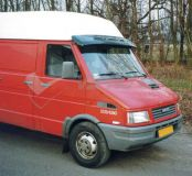 Sun visors Iveco Daily => 1996r, acrylic with mounting assembly