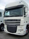 Sun visors DAF XF 105/106 Super Space Cab, cast acrylic with mounting assembly