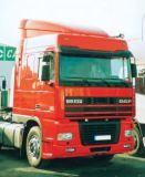 Sun visors DAF XF 95/105/106 Space Cab, cast acrylic with mounting assembly