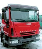 Sun visors Iveco Eurocargo 05/2003,standart roof, acrylic with mounting assembly