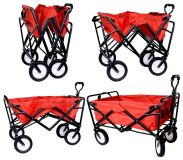 Folding Beach Cart TROGIR 82x50x98 cm, 40kg