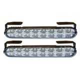 Daytime Running Light 2x16 LED, 12V / 24V