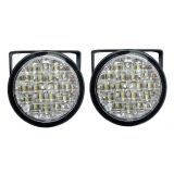 Daytime Running Light 2x18 LED, 12V / 24V