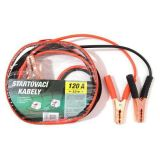Booster cables 120 A, 2 meters