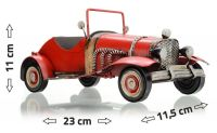 CABRIO metal car model 23 x 11.5 x 11 cm