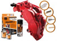 FOLIATEC two-component red brake (Racing rosso)