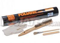 Mounting kit to paint on brakes gloves, brush Foliatec
