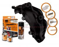 FOLIATEC two-component brake (Midnight black matt)