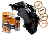 FOLIATEC two-component black brake (Midnight black)