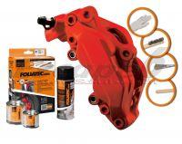 FOLIATEC two-component brake (Racing rosso red matt)