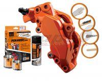 FOLIATEC two-component orange brake (Flame orange)
