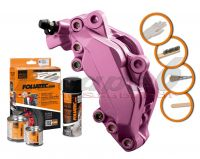 FOLIATEC two-component Pink brake (Pink metallic)