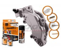 FOLIATEC two-component brake (Elephant grey)