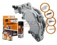 FOLIATEC two-component silver brake (Stratos silver metallic)