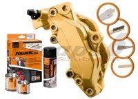 FOLIATEC two-component gold brake (Prestige gold metallic)