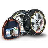 Snow chains X90, 3,0 mm 9mm Quick-acting Cross trace Nylon bag