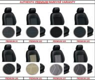 Tailor made car seat covers AUTHENTIC PREMIUM upholstery materials, 1+2, 2+1, 3 seat cover
