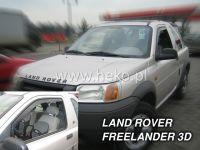 SIDE WINDOW AIR DEFLECTORS for car Land Rover Freelander I, 3D. 1998r, front door HDT