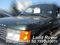 SIDE WINDOW AIR DEFLECTORS for car Land Rover Range Rover II 5D. 1994-2002, front + rear door HDT