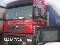 SIDE WINDOW AIR DEFLECTORS for car Man TAG/TGL/TGM 2001, front door HDT